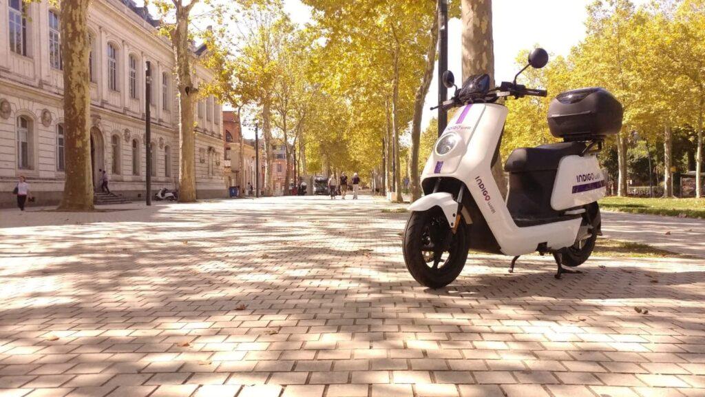 mobilité partagée e-scooters